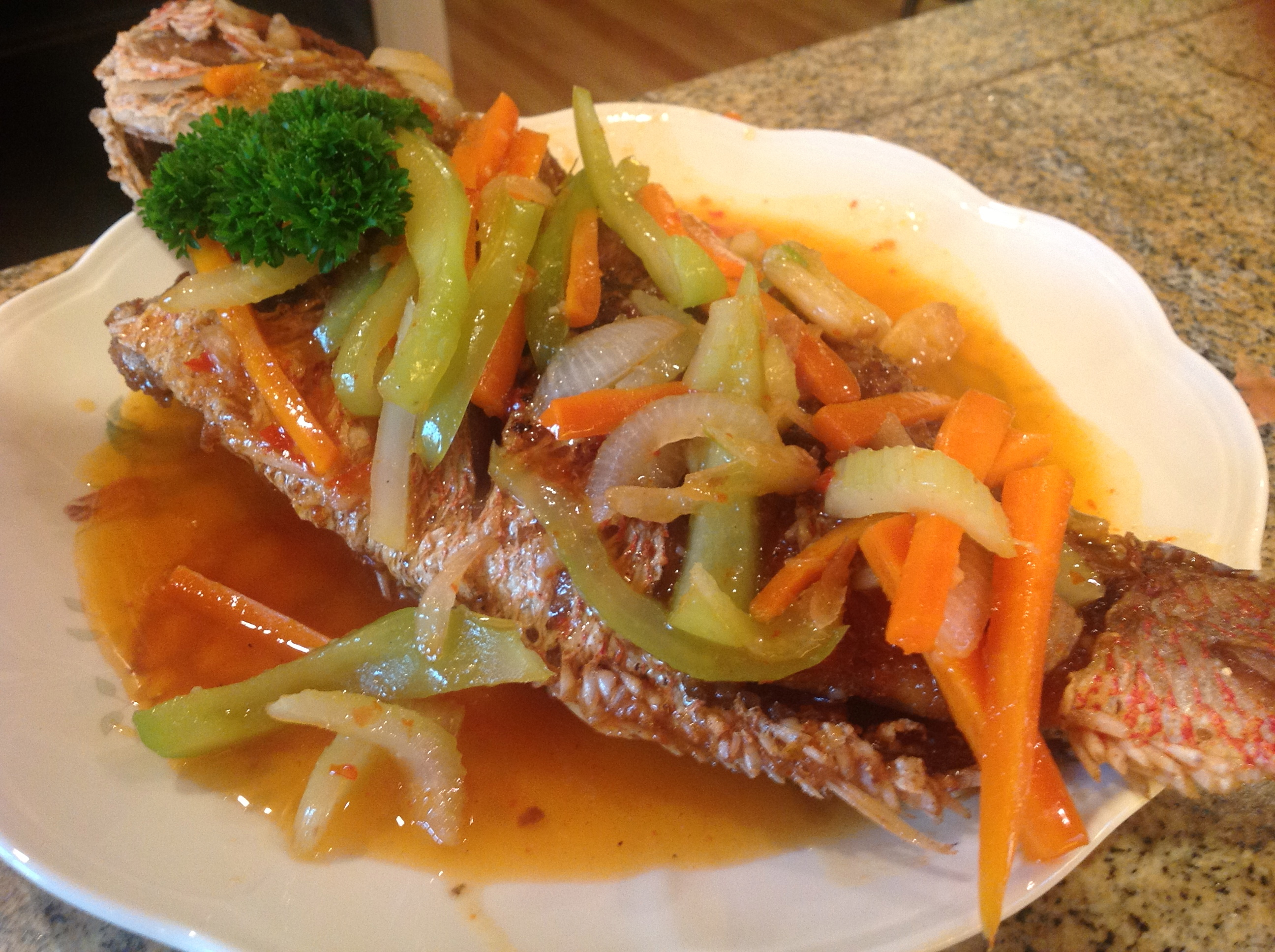 how to cook sweet and sour fish pinoy style