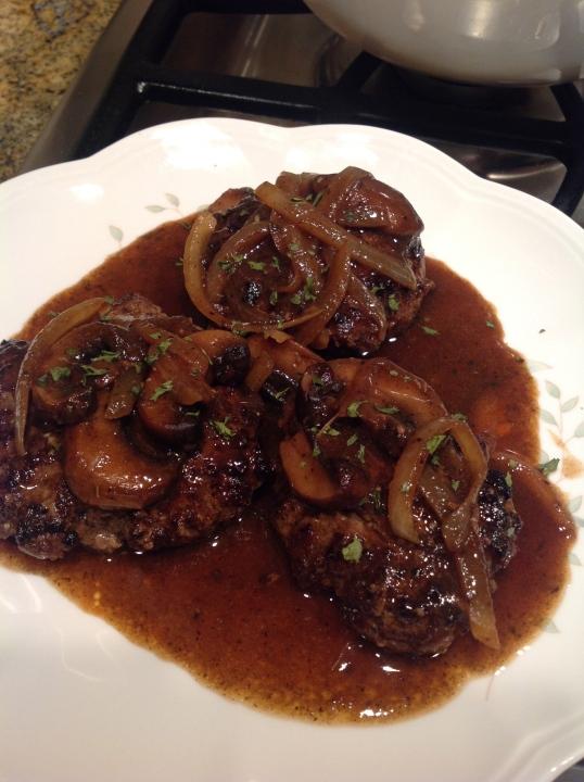 Salisbury Steak (Pioneer Woman recipe)