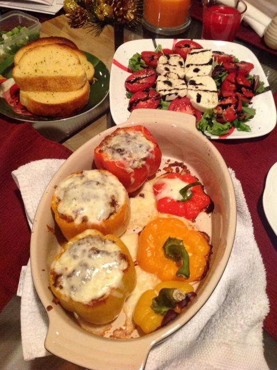 salad this week was Caprese salad!