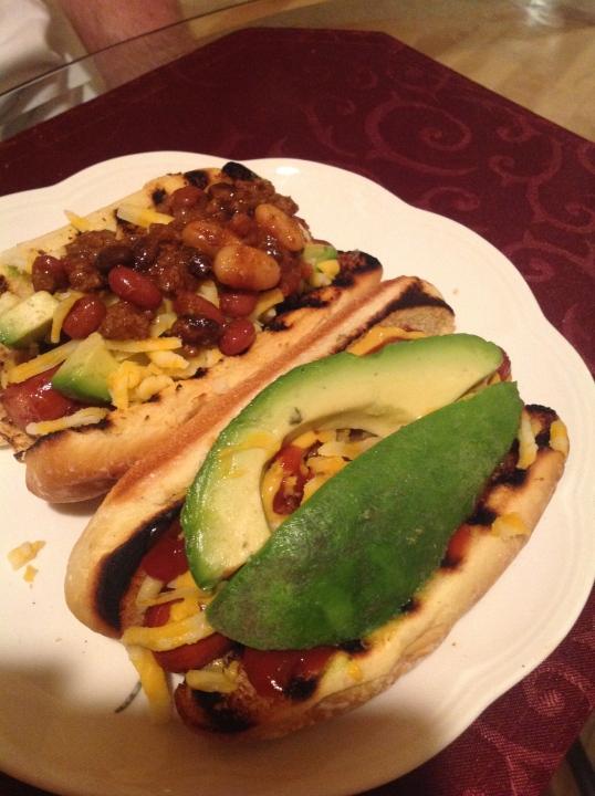 chili dog for sunday dinner