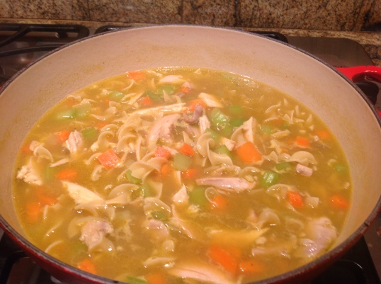 organic chicken soup(all ingredients are organic)