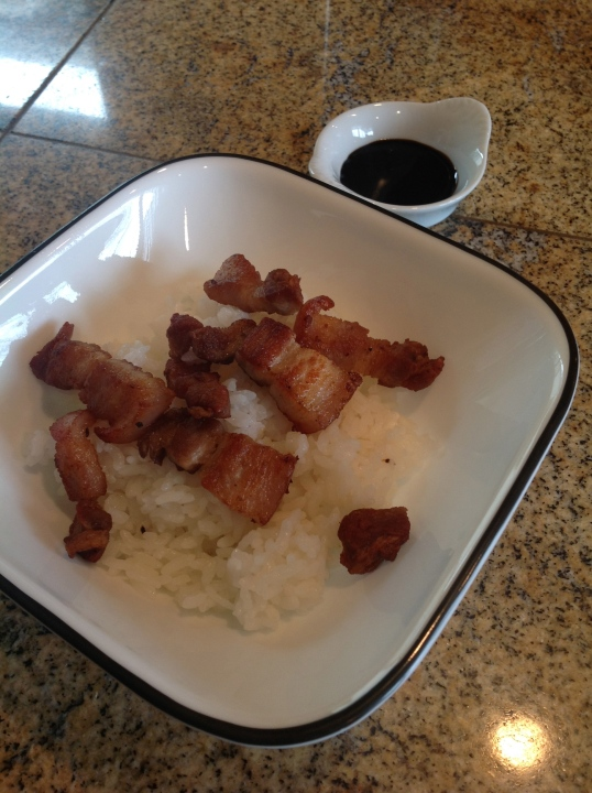 sauteed pork belly