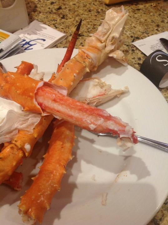 King Crab leg galore!