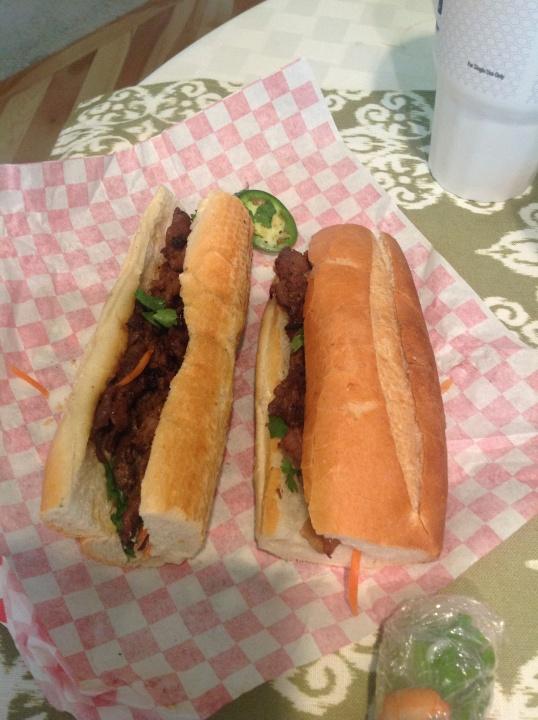 Vietnamese sandwich for Hubs