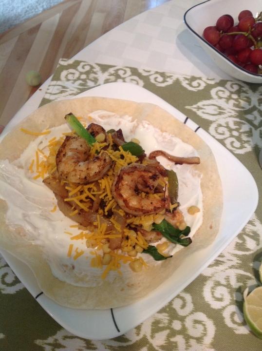 shrimp taco!