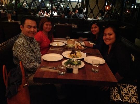 dinner at Earl's (Bellevue)