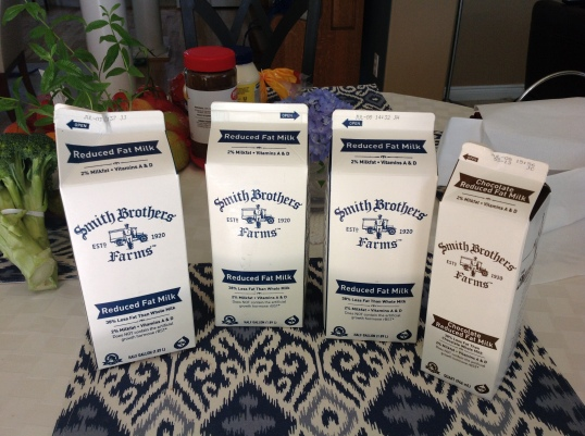 Smith Brother's milk delivery: $10.86