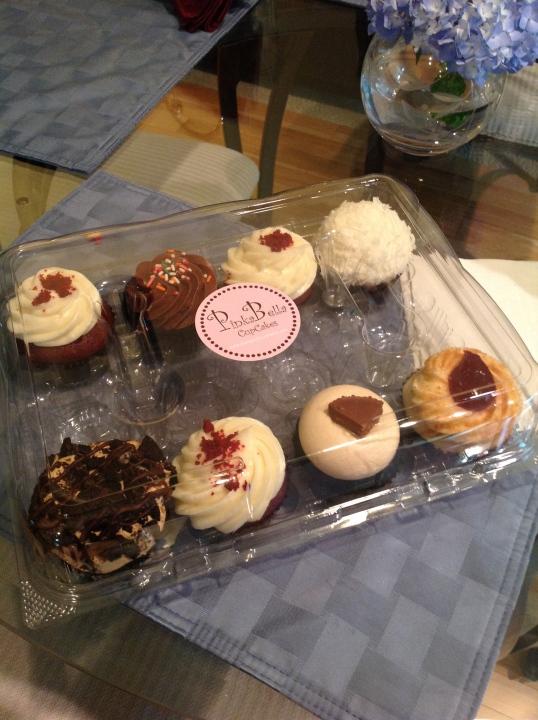 Yummy cupcakes for the birthday boy!