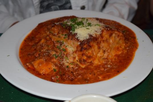 MILs lasagna!