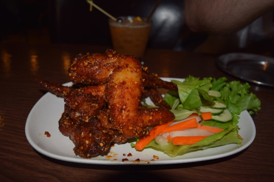 Pok Pok's famous chicken wings