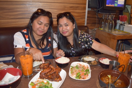 food trip with sisteret!