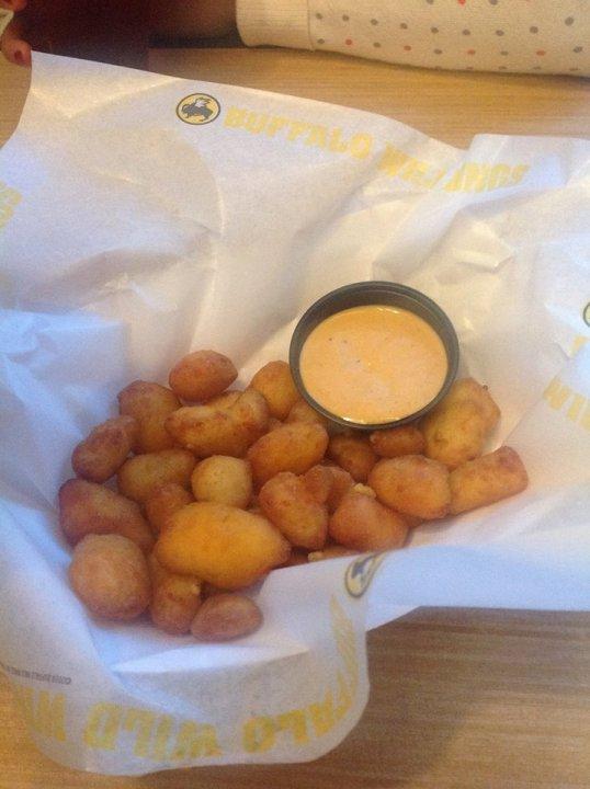 yummy fried cheese curd