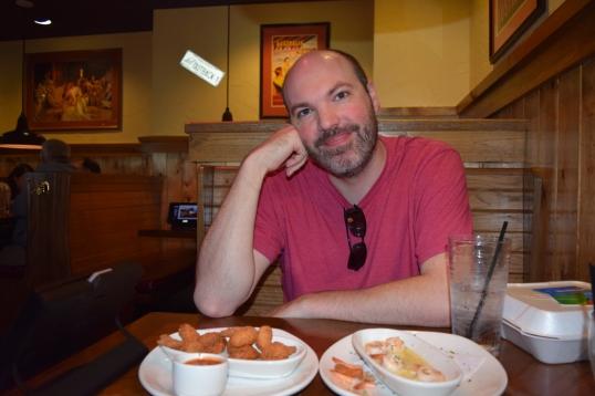 """Zachs """"shrimp overload """"face!"""