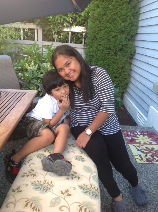 with my godson Cyrus!