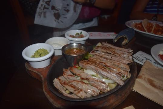 steak fajitas (i think)