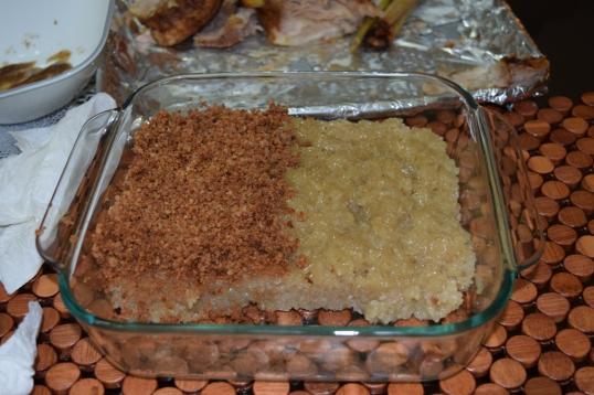 Biko/sticky rice that my hubs really enjoyed