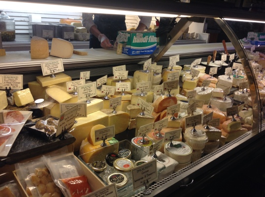 Cheese Heaven at Delaurenti