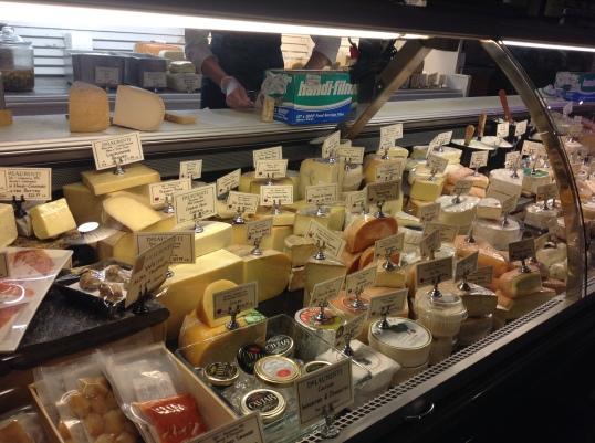 Cheese Heaven at Delaurenti