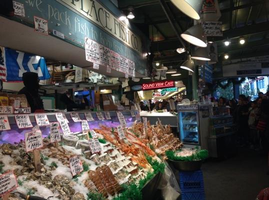 Pike Place market!