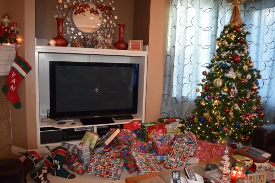 Christmas morning! Santa Came:)