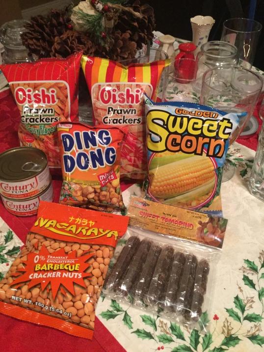 Filipino junk food!