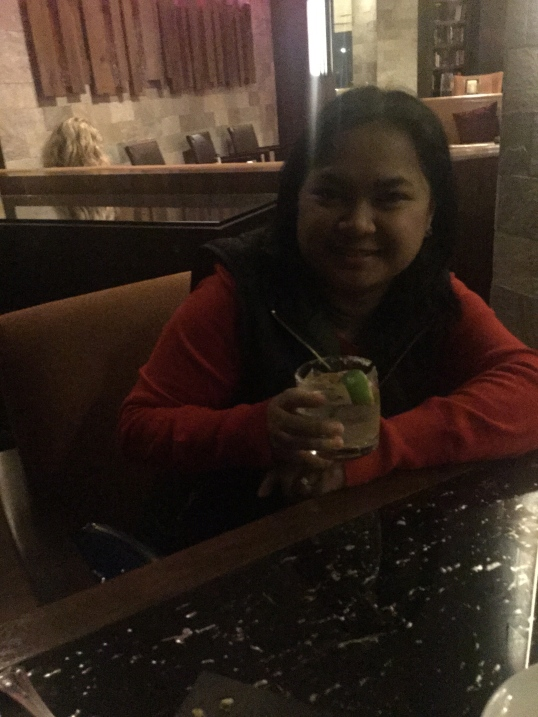 enjoying some drinks