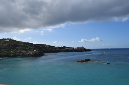 Good morning from St. Thomas