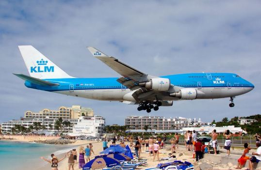 Photo from online (but this is the same plane we saw) that made me super excited!