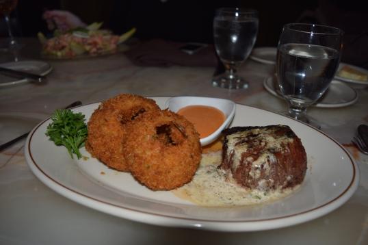 Filet Mignon (my order) I really enjoyed this one