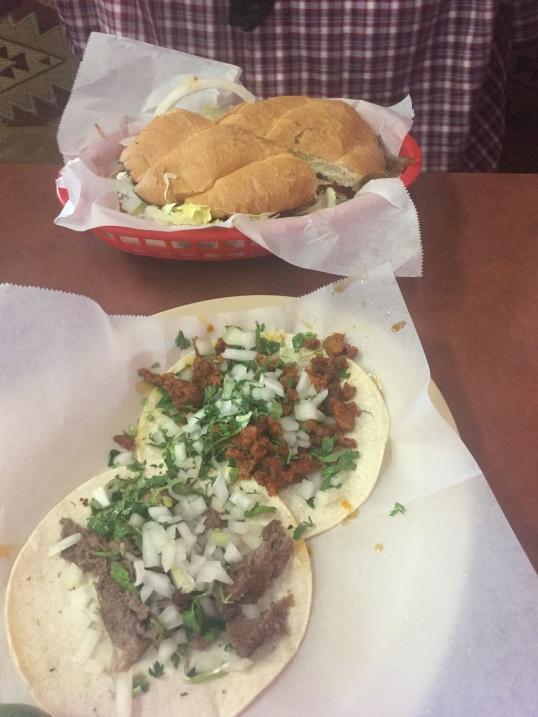 Tacos and Tortas after church