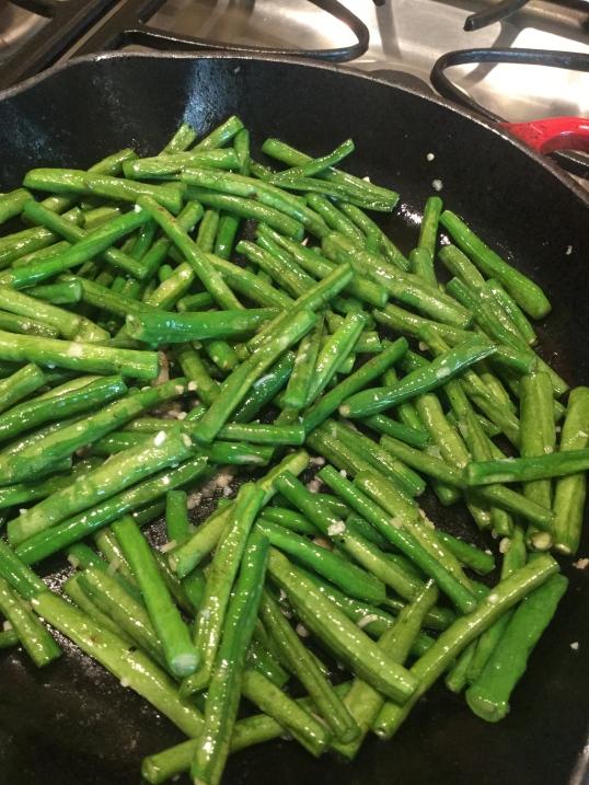 adobong green beans